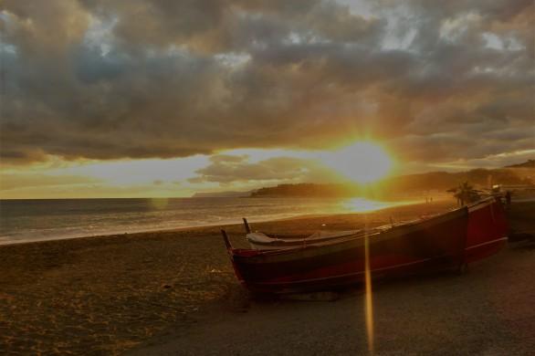 Sunset in Varazze